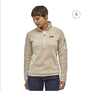NWOT Patagonia Women's Better Sweater 1/4 Zip